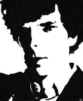 Sherlock ~ Bold in Black and White by lilaclila