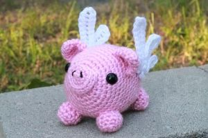 When Pigs Fly - for sale on Etsy by theyarnbunny