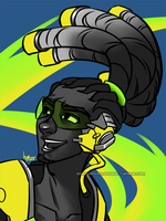 Overwatch: Lucio by Sage-Wren