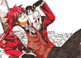 Request: Grell Sutcliff by soul-espada