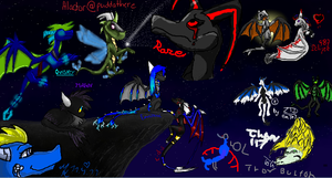 Iscribble...dragon by Loki-Ryuu