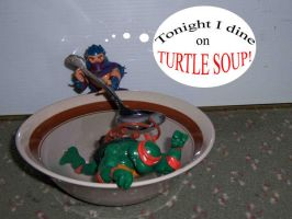 Tonight I Dine on Turtle Soup by Wrecko