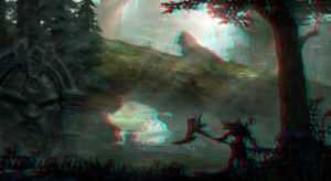 Ancient Forest 3-D conversion by MVRamsey