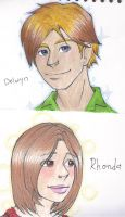 Delwyn and Rhonda by Doodlebotbop