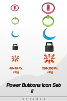 Power Button Icon Set II by opelman