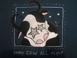 disco cow by MSLucy