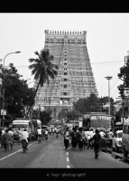 Indian Temple by yoge1993