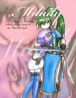 Milady Title: color by melidichan