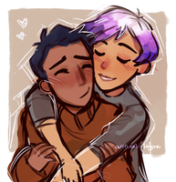 Hugs. by arrival-layne