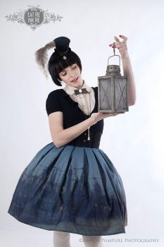 Old Master's high waist skirt (lookbook) by zeloco