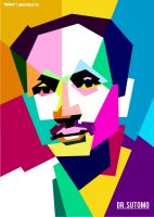 DR. Sutomo in WPAP by Edho by edhoartwork