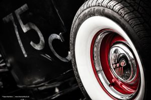 White Wall Tyre by AmericanMuscle