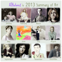 2013 Art Summary by ajhistoric2