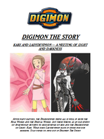 Digimon the Story Front Cover by Panthers07
