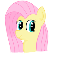 Fluttershy smile by Headcrabik