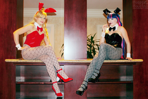 Bunny Girl Panty and Stocking by CosplayCousins