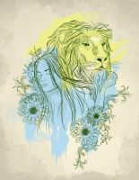 The Lion Is In Love by jasonwave