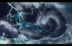 ride the storm + speedpaint link added by Silverbloodwolf98