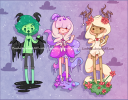 Adoptables Batch 5: CLOSED by Zombutts