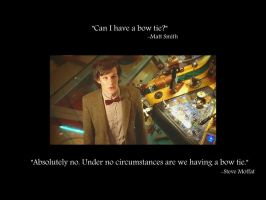 The Doctor's Bow Tie by TrackHopper