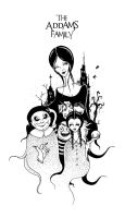 The Addams Family by morbidillusion666