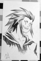 Axel sketch commission by stuffaeamade