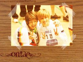 OnTae Wallpaper by snovieanime210