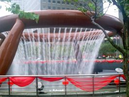 SINGAPORE HUGE ASS FOUNTAIN by TheRolePlayingGame