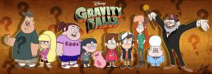 Gravity Falls by MartinsGraphics