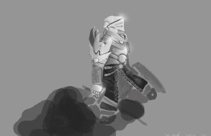 knight concept one by ShinoShoe26