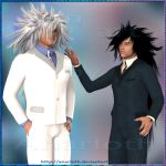FF VII DoC - Weiss and Nero with suits - 3D by Anarloth