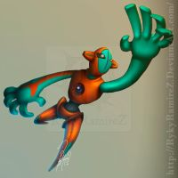 Deoxys by rykyramirez