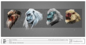 Yeti HeadVariations WEB by firecrow78