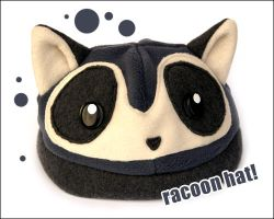 Racoon hat by Sefi