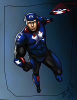 Captain America by Chizel-Man