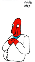 Zoidberg Challenge day 13 by SickSean