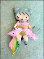 Nyan Cat Girl Charm New Photo by GrandmaThunderpants