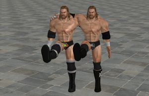 'WWE: All Stars' Triple H XPS ONLY!!! by lezisell