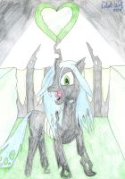 Chrysalis in her New Empire by Robshi