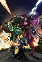 Uncanny Avengers by yinfaowei