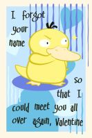Psyduck Valentine by The-Blue-Pangolin