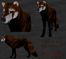 .:AK: Red Panda:. by Goddess-of-BUTTSECKS