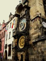 Prague:astronomical clock by faQy