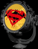 Batman v Superman Batsignal by Brandtk