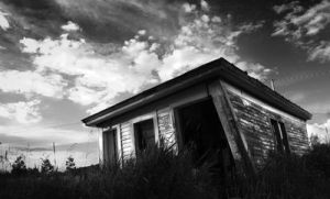 Shed BW by clashcityrockr666 by Scapes-club