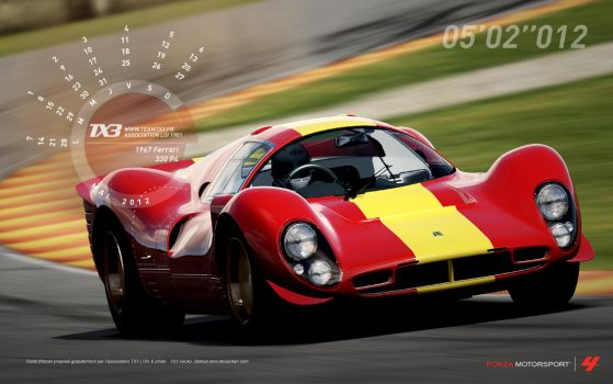 1967 Ferrari - 330 P4 by about-zero