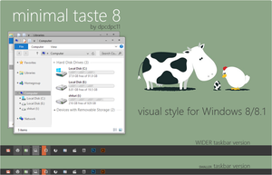 Minimal Taste 8 for Win 8/8.1 by dpcdpc11
