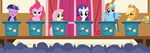 Ponyville To Canterlot Election 2014 by TomFraggle