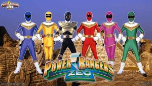 Power Rangers Zeo WP by jm511