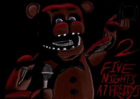 Five Nights At Freddys 2 by charcoalman